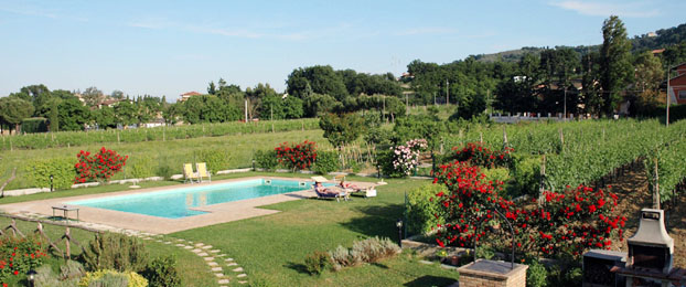 Swimming pool farmhouse Umbria - Italy